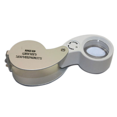 40x Power Led Lighted Loupe