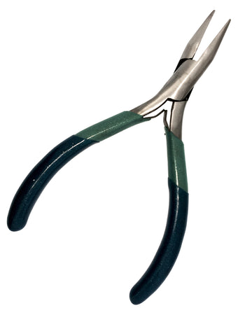 "Chain Nose Box Joint 5"" (127MM) Pliers 2 tone Green and Blue Hobby Jewelry"