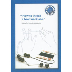 Bead Stringing Instruction Booklet - Griffin