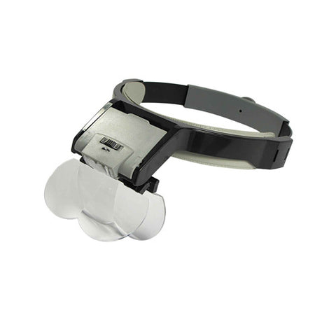Optical Visor Illuminated Multi Power Head Magnifier