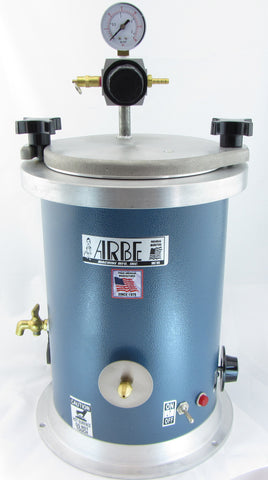 Extra Large Wax Injector Arbe Machine Sz 4 Quart Tank 110v
