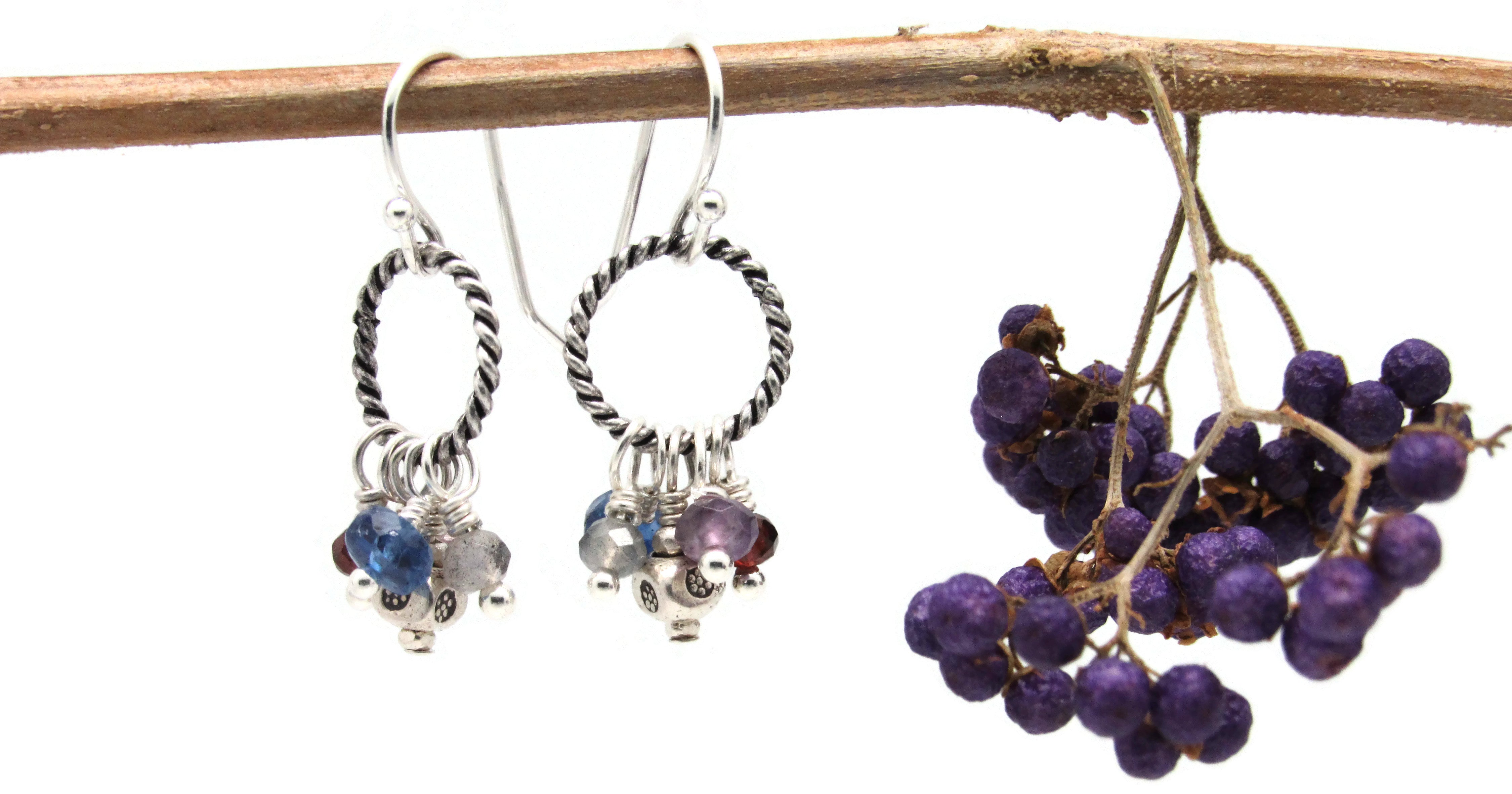 Many Dangles Earrings in Multiple Colors