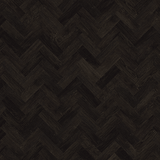 Karndean Art Select AP03 Black Oak Parquet Flooring laid herringbone.