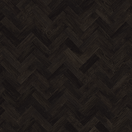 Karndean Art Select AP03 Black Oak Parquet Flooring Laid Herringbone