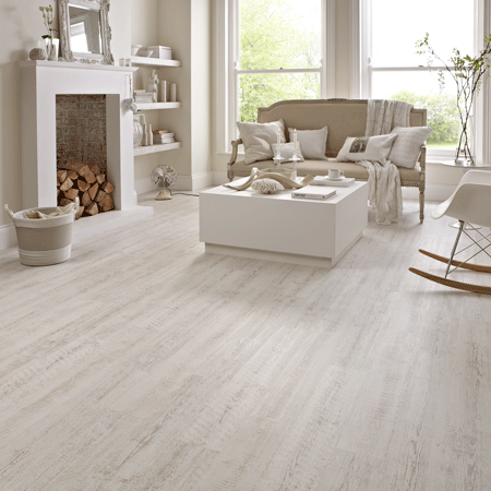 Karndean KP105 White Painted Oak