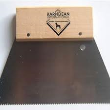 Karndean Design Flooring notched adhesive spreader