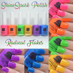 2018 Summer - Radical Flakes Neon Collection