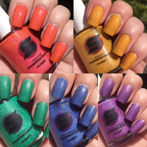 Summer Blooms Holo collection - Individual polishes