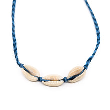 Load image into Gallery viewer, Cowrie Braided String Necklace