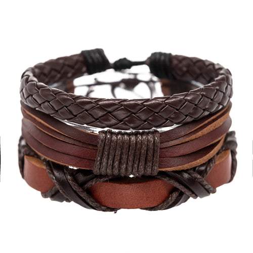 charming shark mens surfer bracelets leather