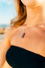 Load image into Gallery viewer, charming shark healing crystal necklace