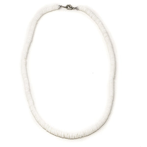 round puka shell necklace