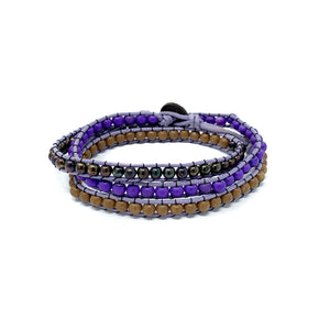 Triple Wrap Beaded Bracelets