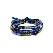 Load image into Gallery viewer, Triple Wrap Beaded Bracelets