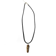 Load image into Gallery viewer, tiger eye crystal necklace