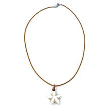 Load image into Gallery viewer, soapstone starfish necklace