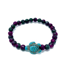 Load image into Gallery viewer, Turtle Dream Beaded Bracelet