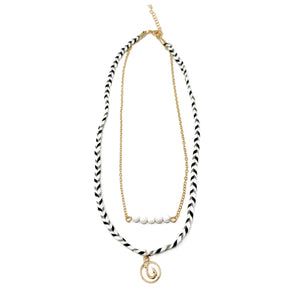 cute beach style hook necklace