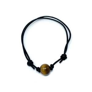 Tiger Eye Stone Anklet