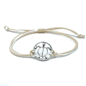 sea turtle string bracelet