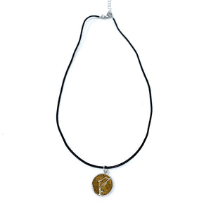 Dolphin Beach Sand Necklace