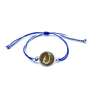 blue hook beach sand bracelet
