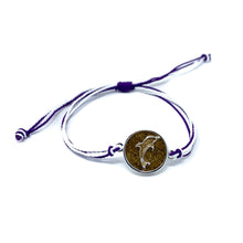 Load image into Gallery viewer, purple dolphin sand bracelet