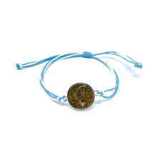 Load image into Gallery viewer, blue dolphin beach sand bracelet