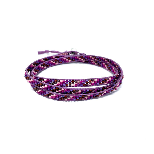Seed Bead Triple Wraps