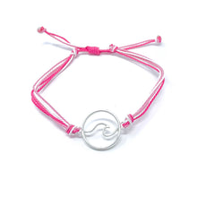 Load image into Gallery viewer, Pink Wave String Bracelet