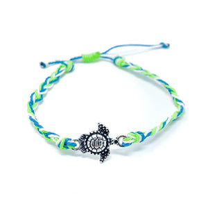 Green Turtle Charm Multi Single