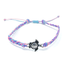Load image into Gallery viewer, Blue Pink Turtle Charm Multi Single