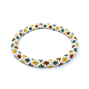 Multi Color Beaded Roll On Bracelet