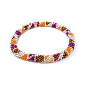 Beaded Roll On Bracelet