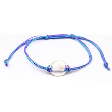 Load image into Gallery viewer, charming shark bone dolphin string bracelet