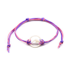 Load image into Gallery viewer, pink girls carved bone dolphin string bracelet