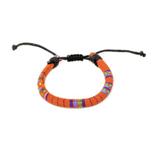 Load image into Gallery viewer, charming shark orange boho hippie bracelets