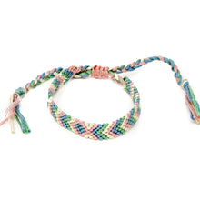 Load image into Gallery viewer, braided colorful hippie bracelets