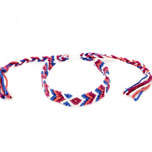 braided woven colorful bracelets