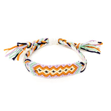 Load image into Gallery viewer, hippie diamond pattern woven braided bracelet