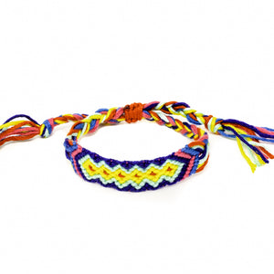 woven braided friendship bracelets
