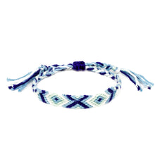 Load image into Gallery viewer, woven braided friendship hippie bracelets