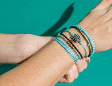 Load image into Gallery viewer, charming shark beach style bracelet stack