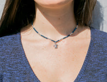 Load image into Gallery viewer, charming shark beaded turtle necklace