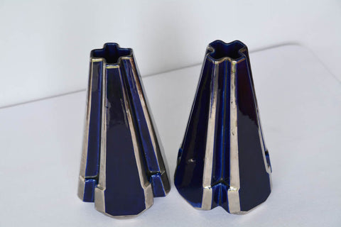 Art Deco French Vases - Moulin des Loups