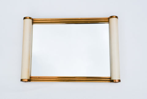 Art Deco French Mirror Tray