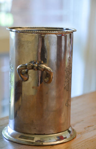 Vintage Silverplate Wine Cooler