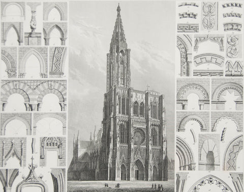 HECK ARCHITECTURAL ENGRAVING, PLATE 36