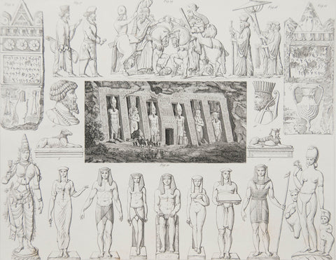 HECK EGYPTIAN INCONOGRAPY, PLATE 2