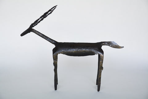 Hand Forged Iron Reindeer